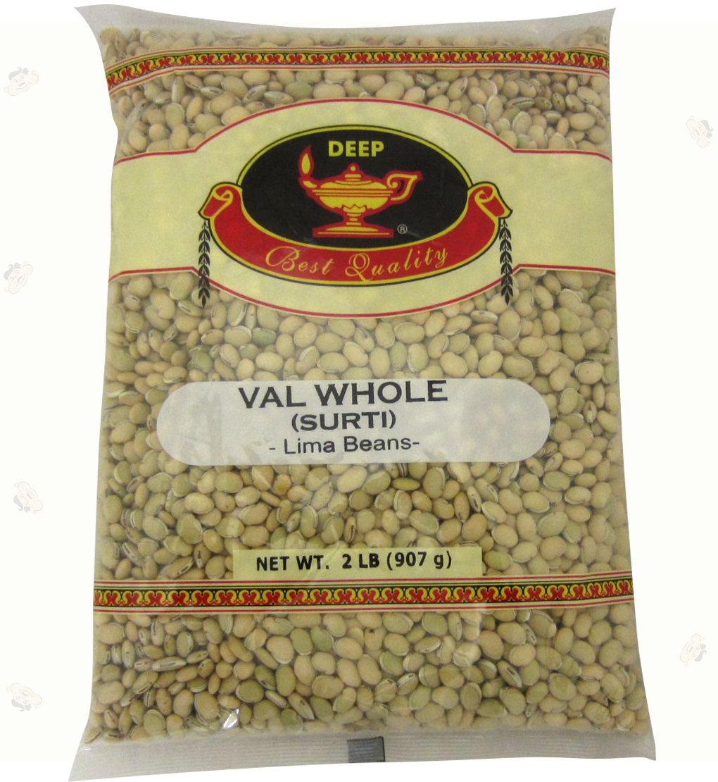 Indian Grocery - Val Whole Surti 2Lb