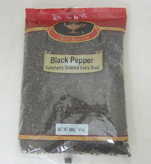 Black Pepper Whole 14 oz