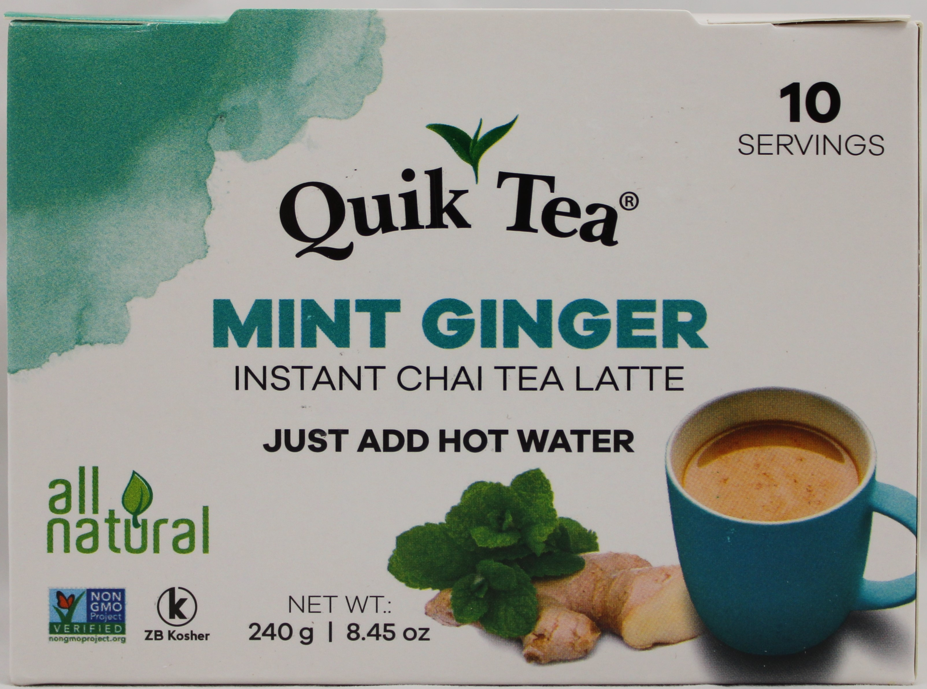 Mint Ginger Chai 8.5OZ