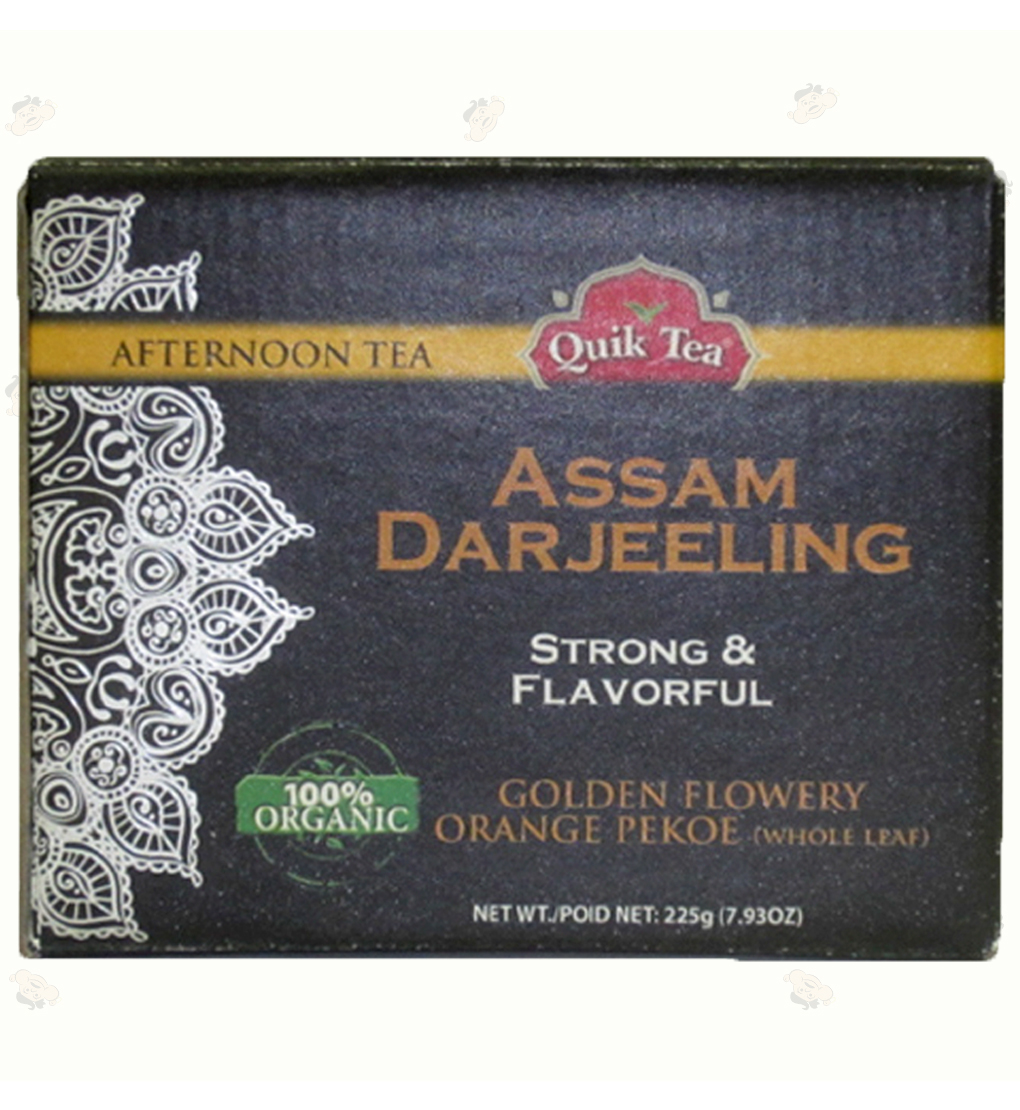Org.Assam-Darjeeling Leaf Tea7.9oz