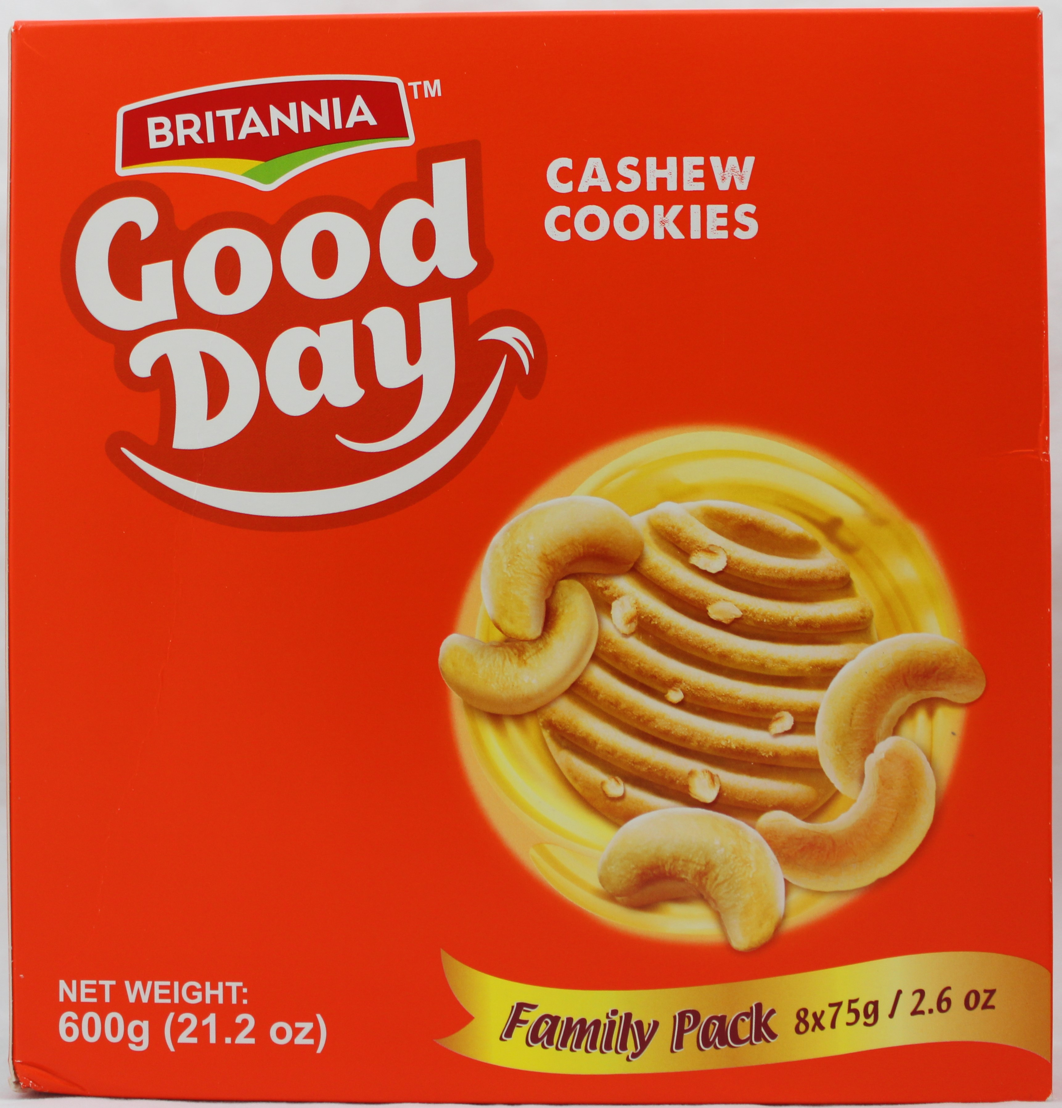 Goodday Cashew FP (2.6ozX8)X6