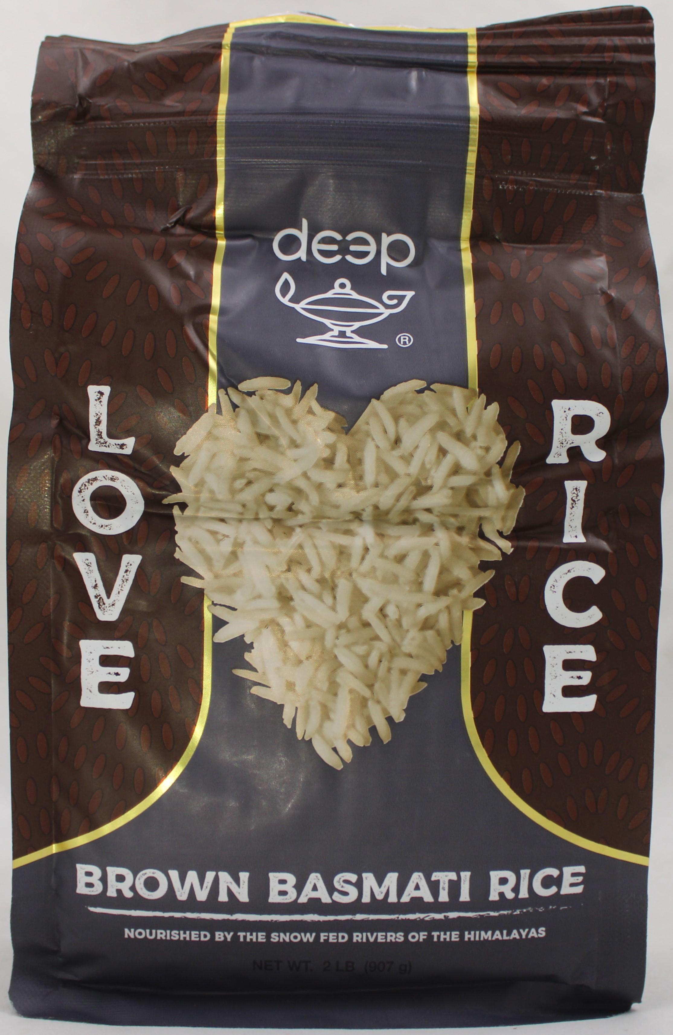 Brown Basmati Rice 2 LB