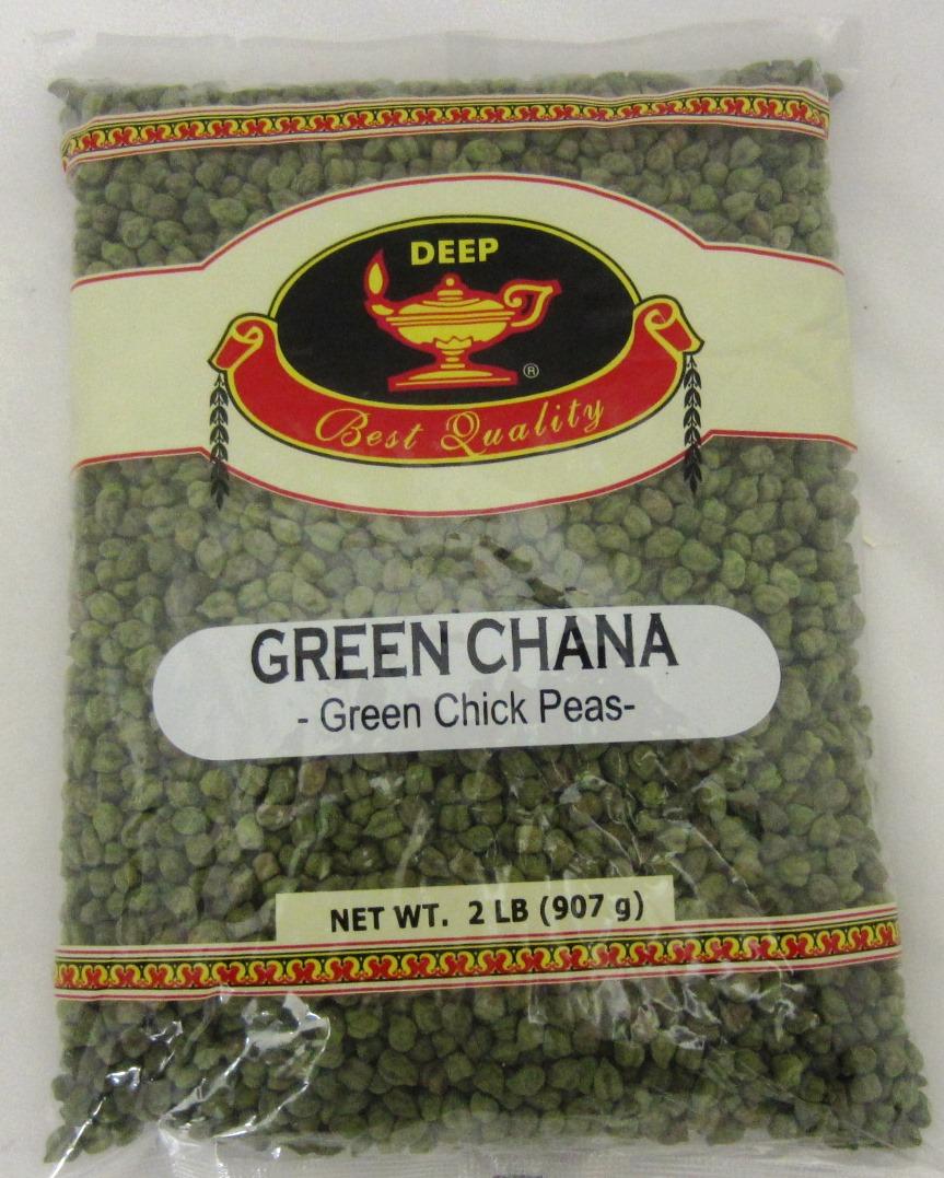 Indian Grocery - Green Chana 2Lb