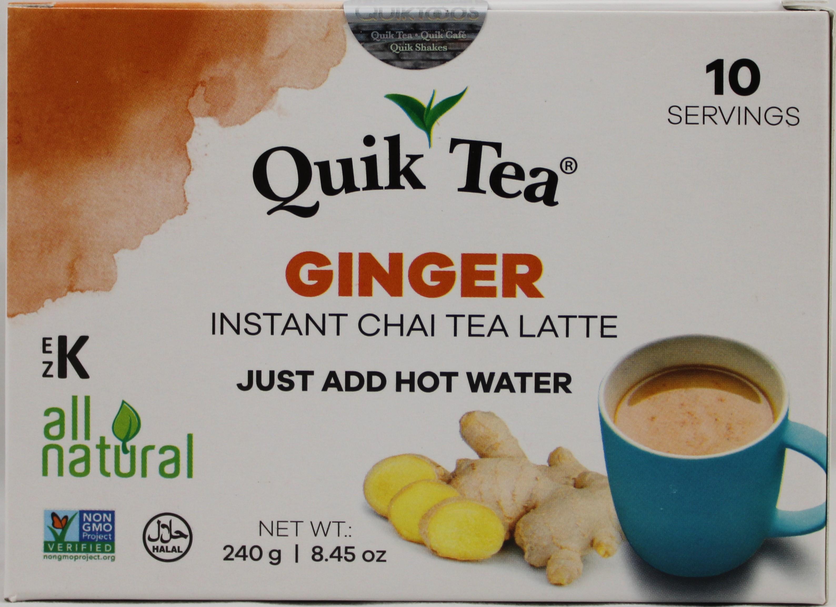 Ginger Chai 8.5 oz