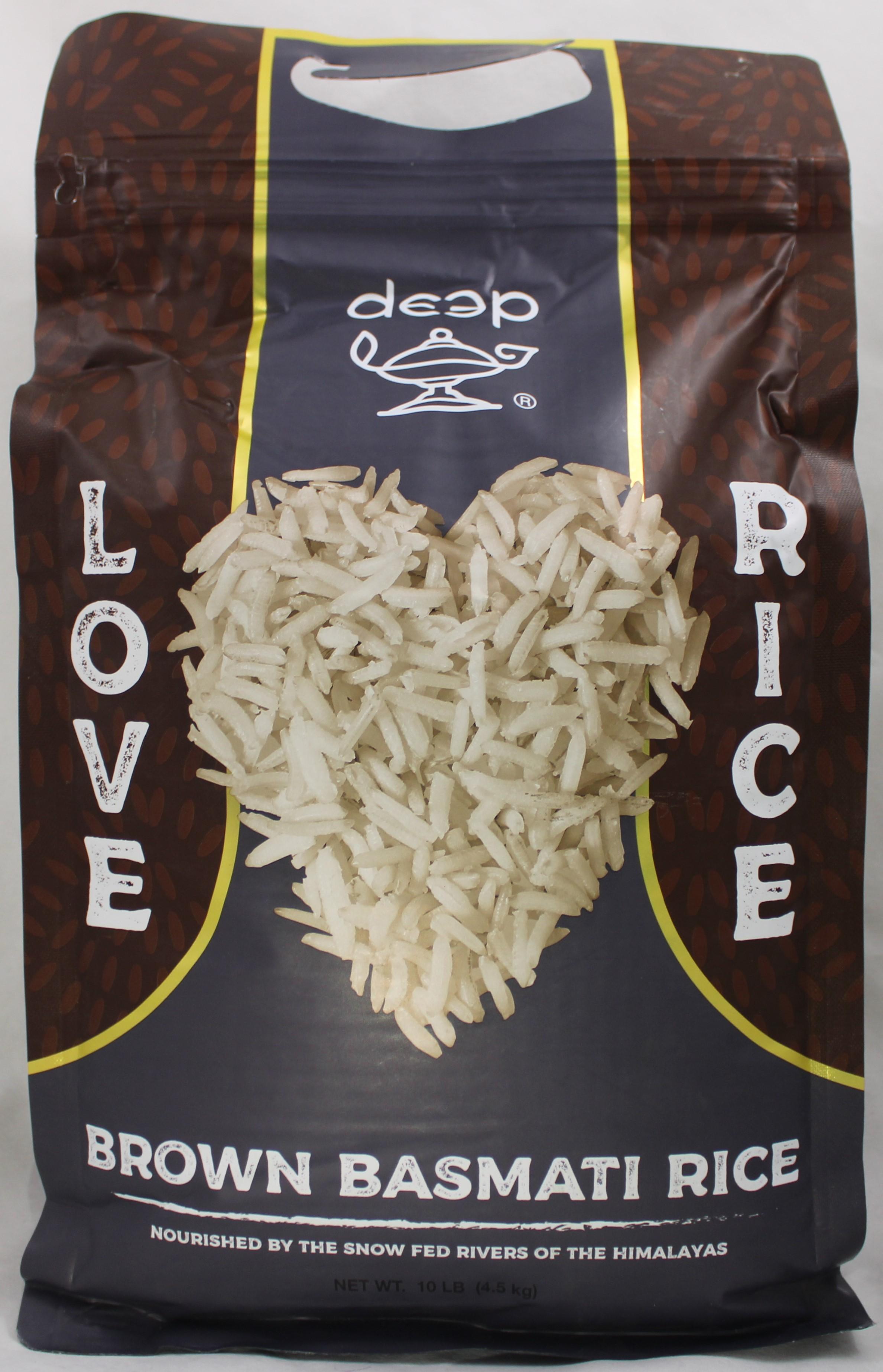 Brown Basmati Rice 10 LB