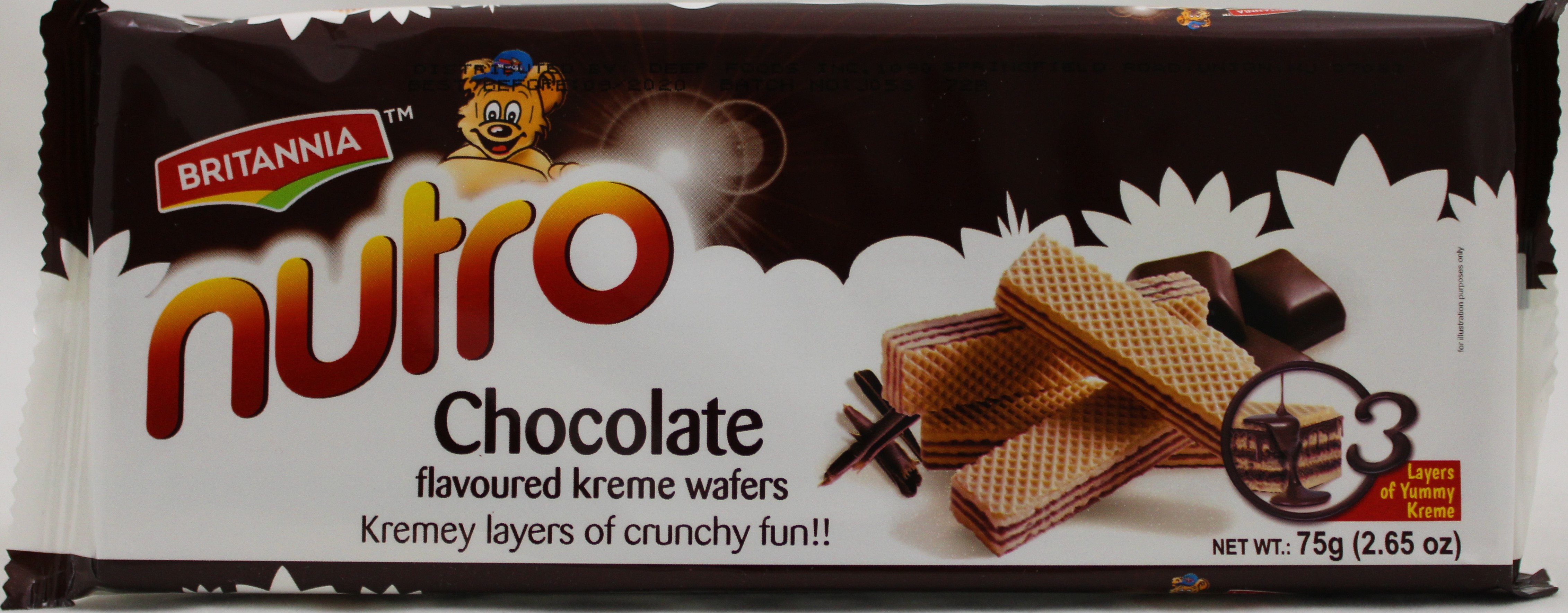 Wafer Chocolate 2.8oz