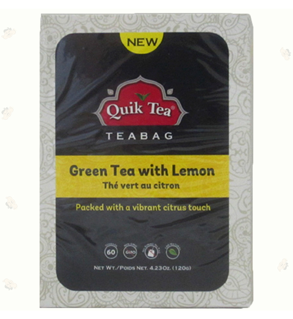 Green Tea with Lemon Tea Bags4.23oz