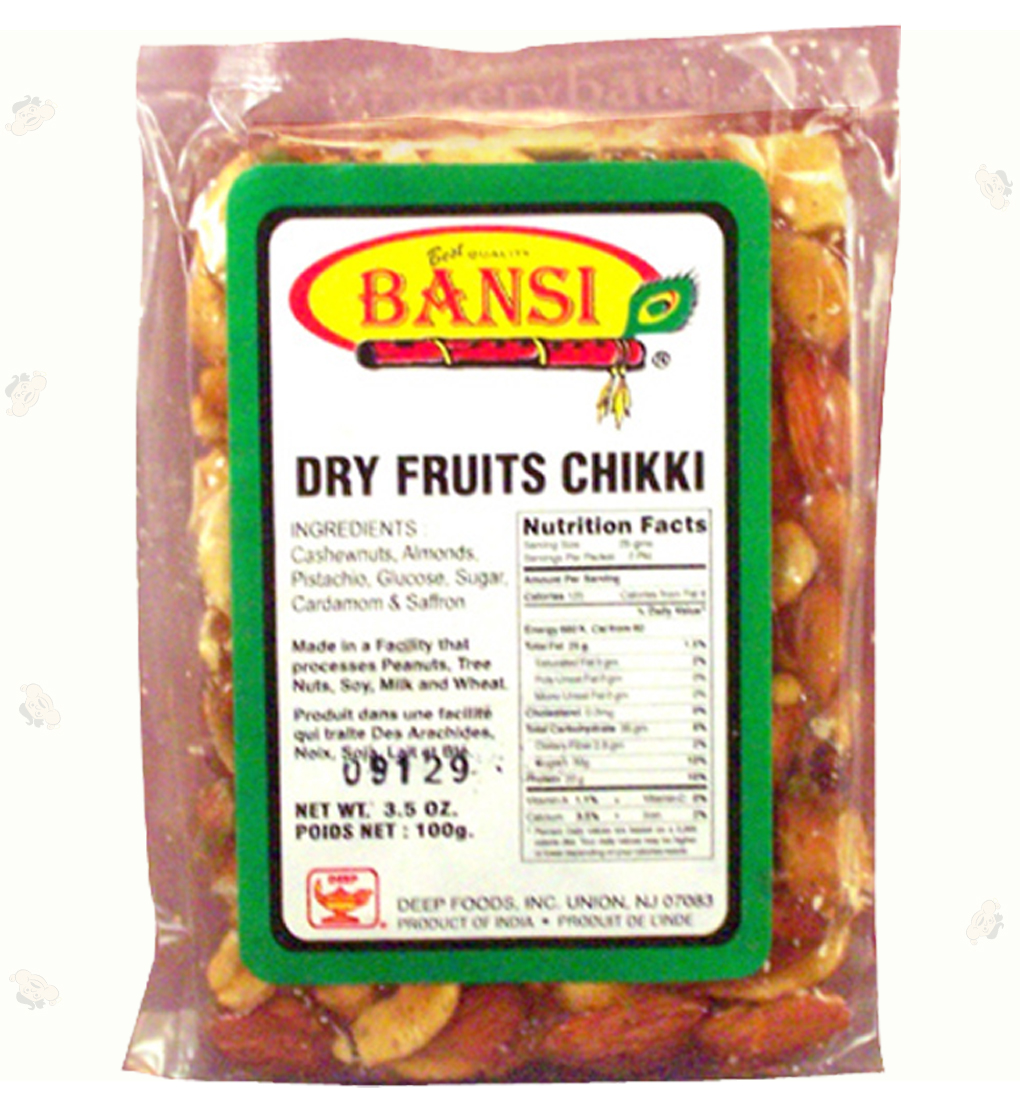 Dry fruit chikki 3.5oz