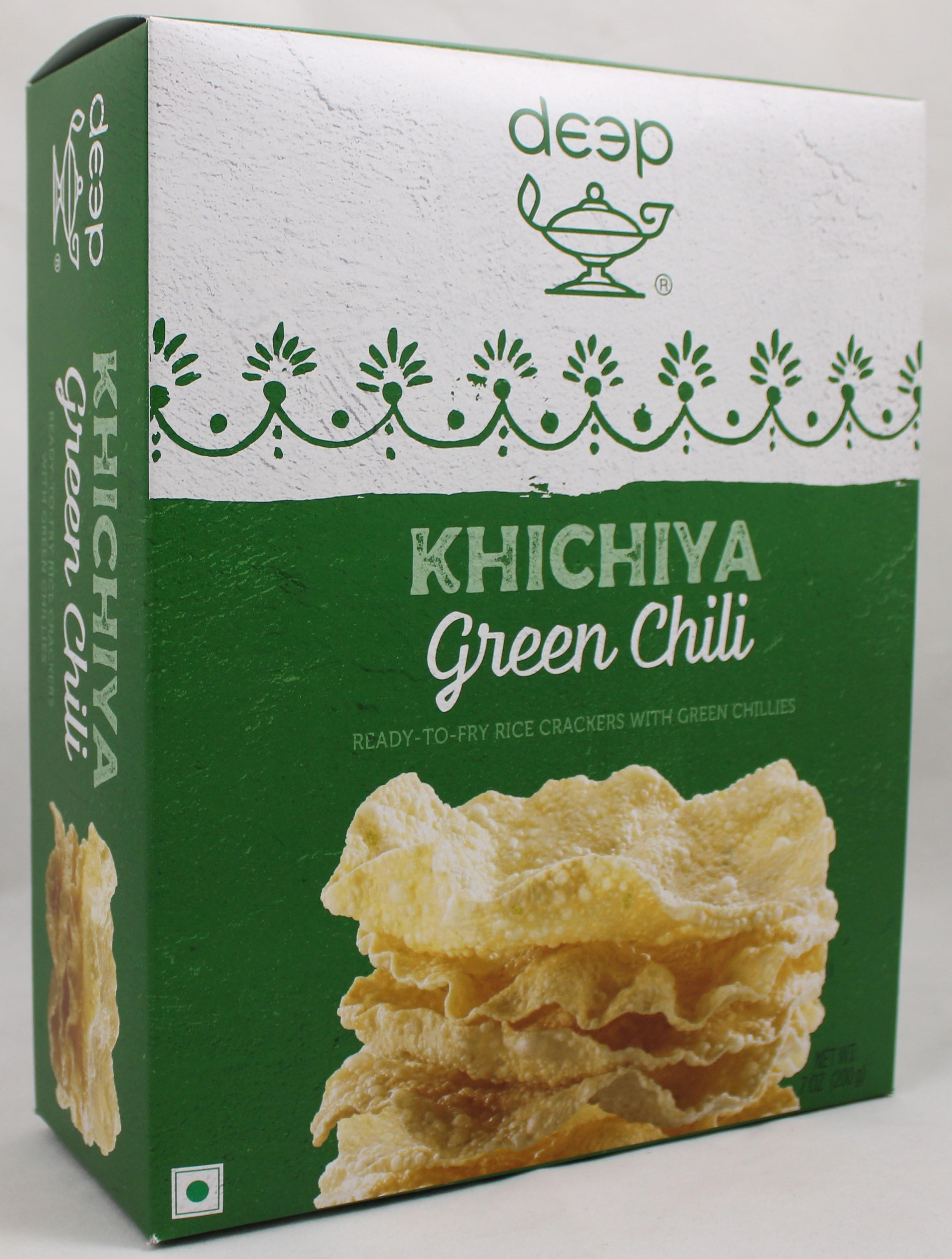 Green Chilli Khichiya 7oz