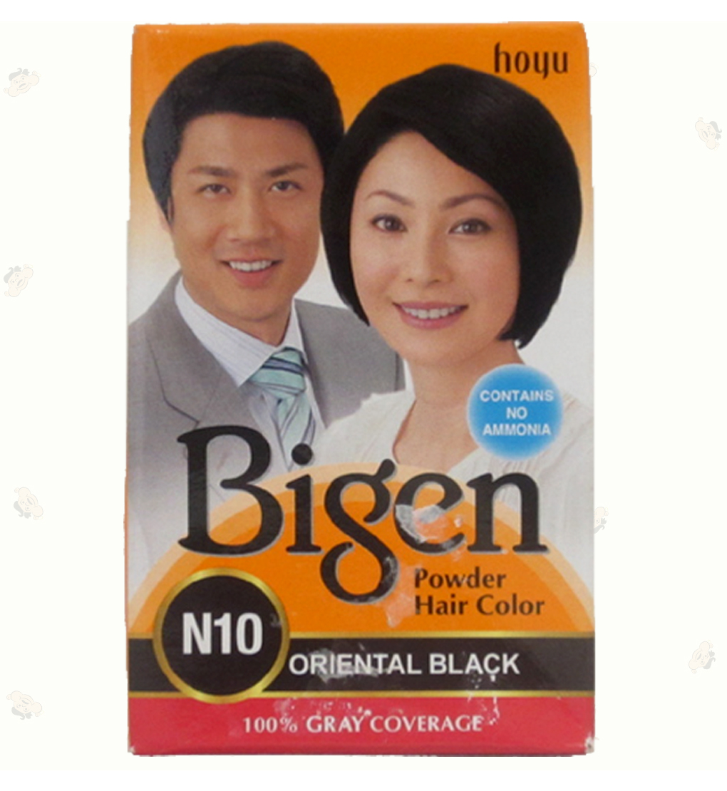 Bigen Dye Black Powder