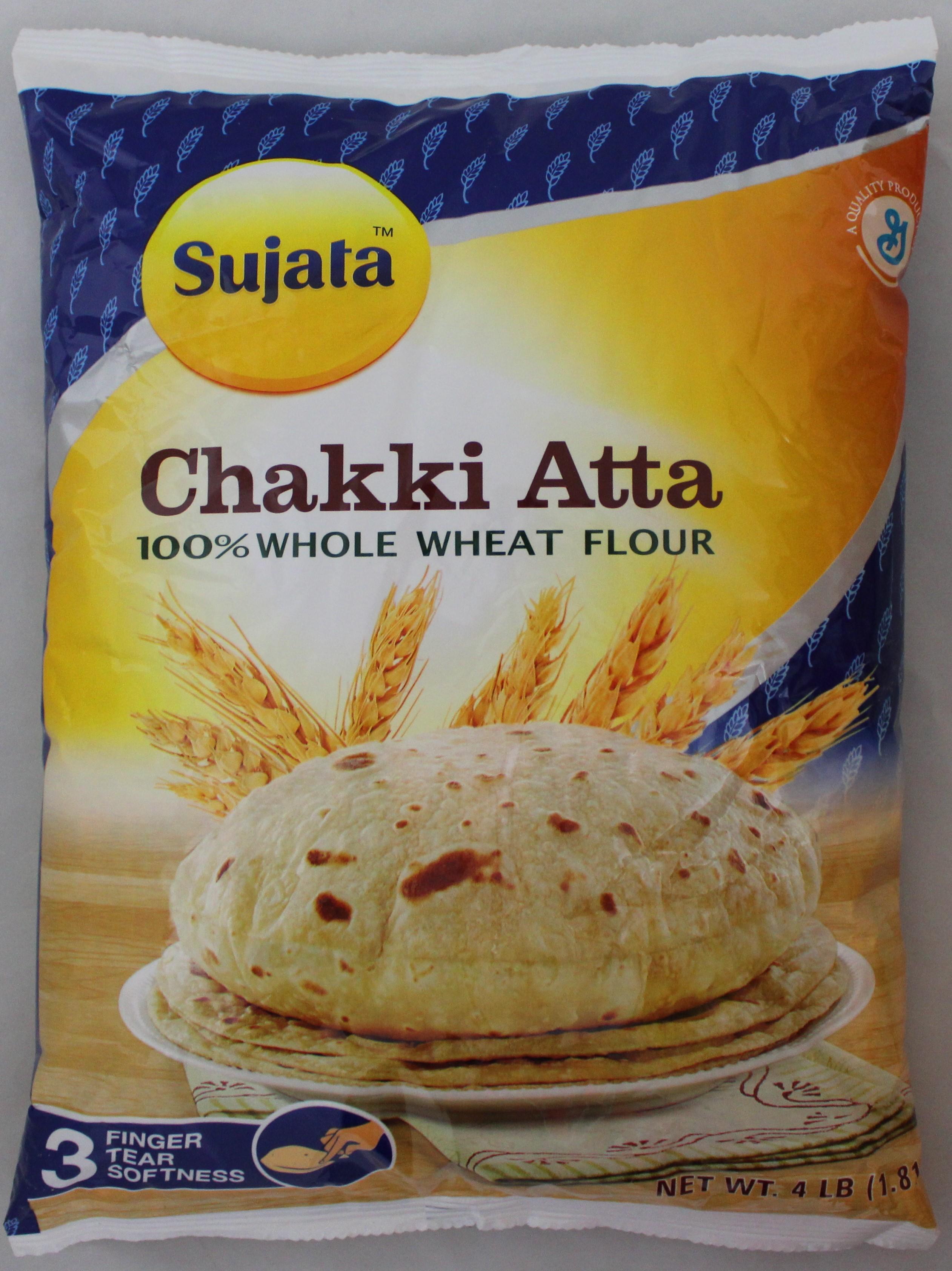 Chakki Atta(Whole Wheat Flour) 4lb