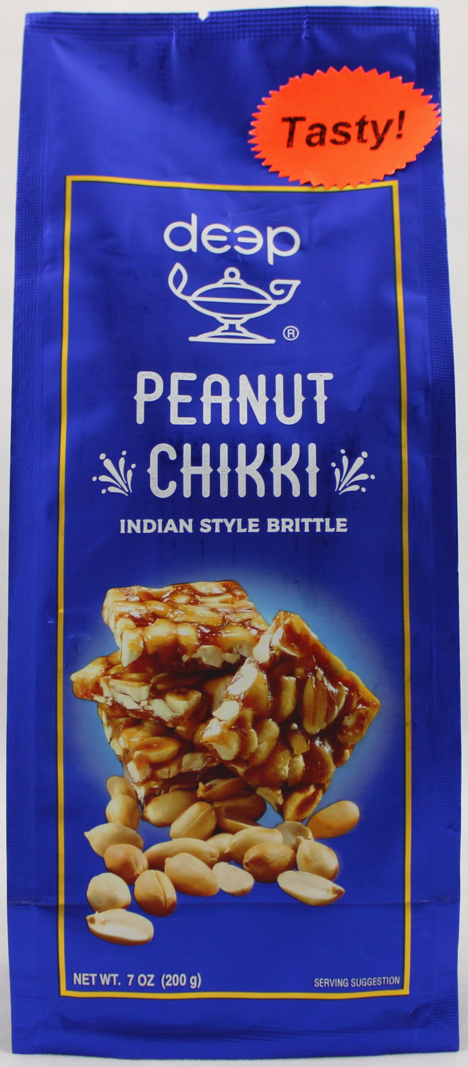 Indian Grocery - Peanut Chikki 7oz