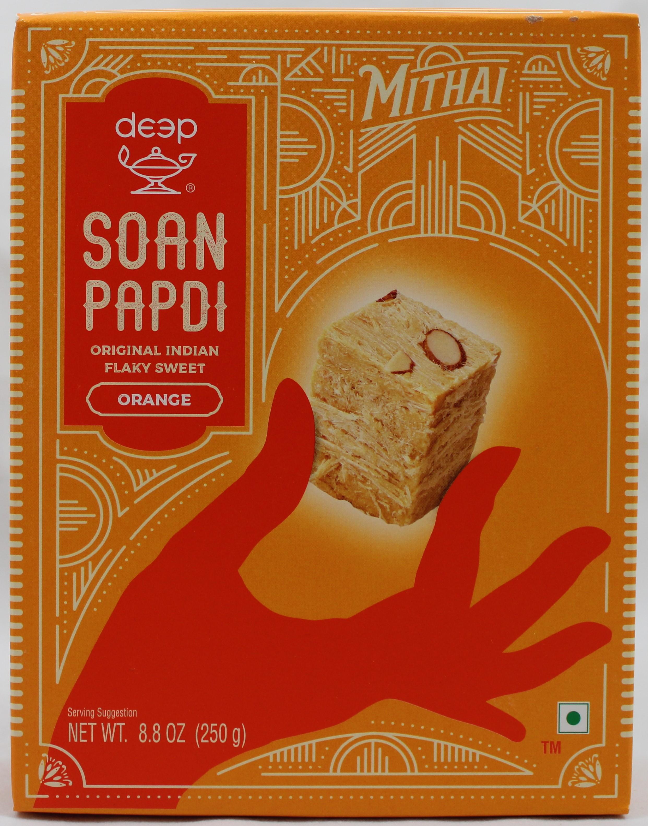 Soan Papdi - Orange 8.8 Oz