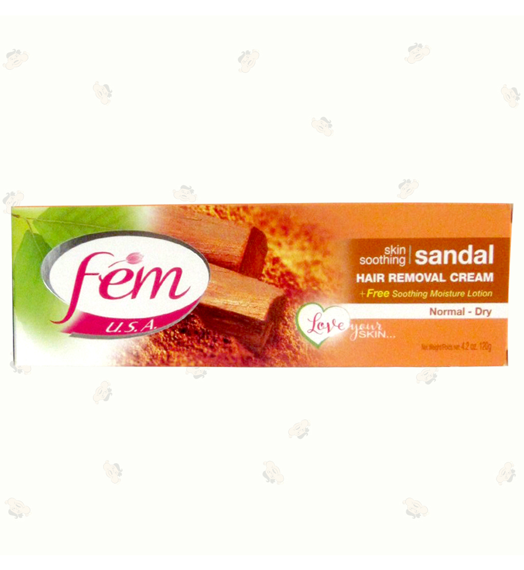 Fem Hair Removal Cream Sandal 4.2Oz