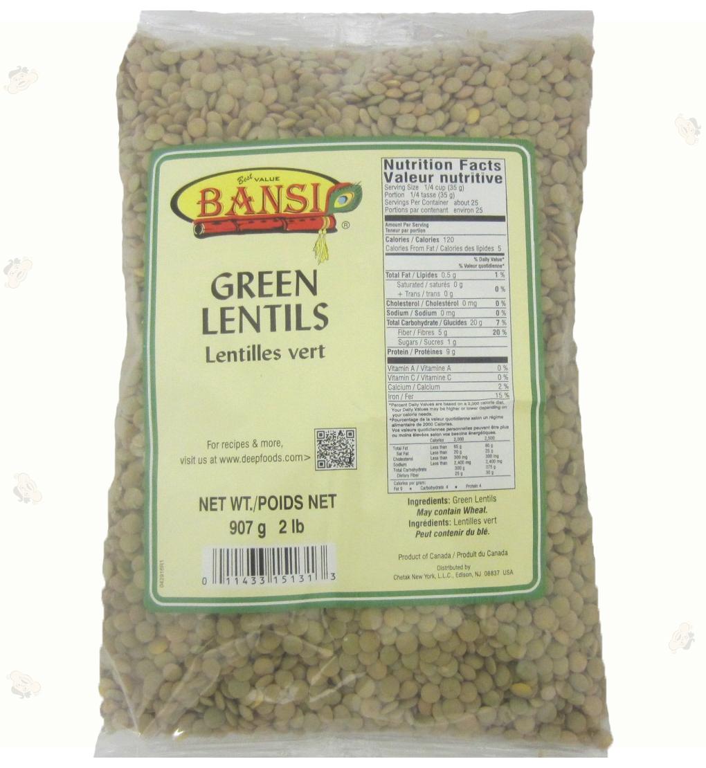 Green Lentils 2lb