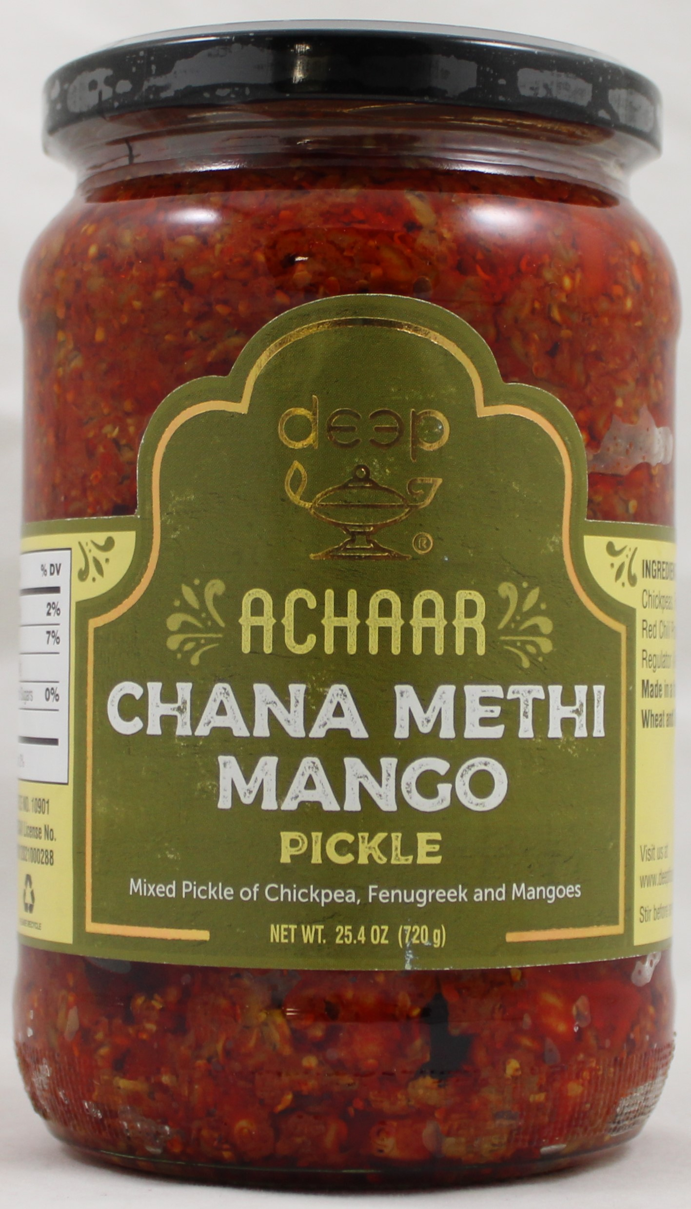 Chana Methi MangoPickle25.4 oz