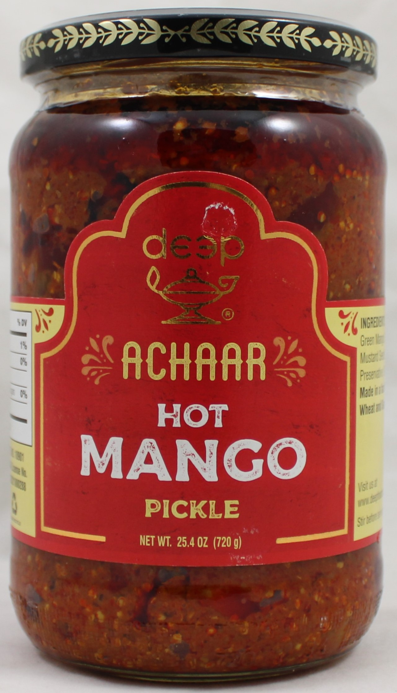 Hot Mango Pickle 26oz.