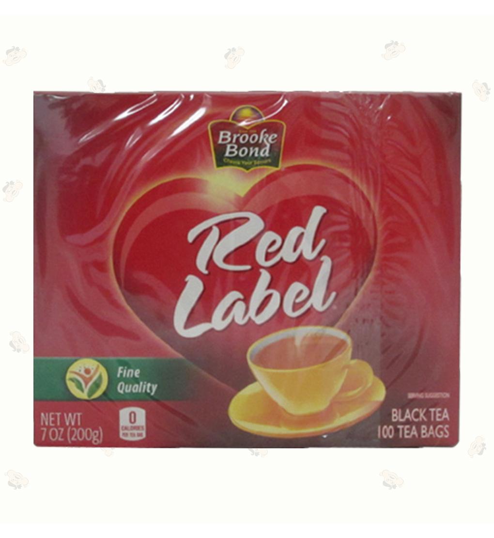 Red label Tea Bags (.1oz)100ct