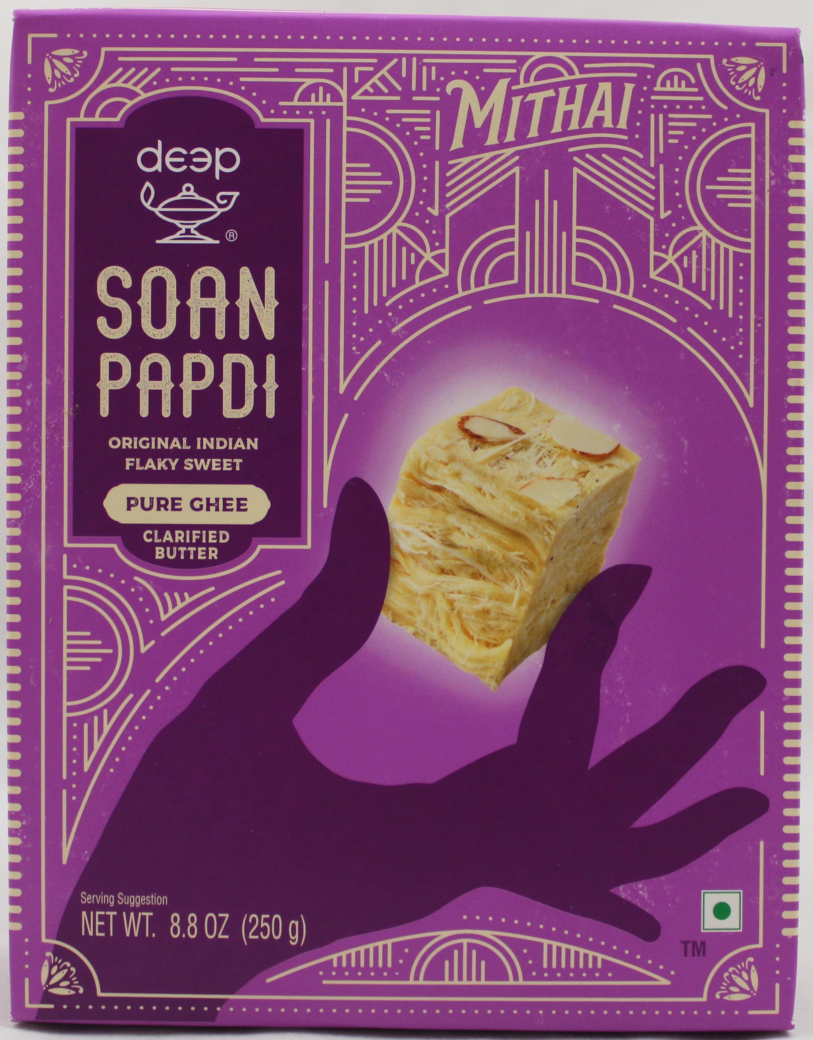 Soan Papdi - Pure Ghee 8.8 Oz