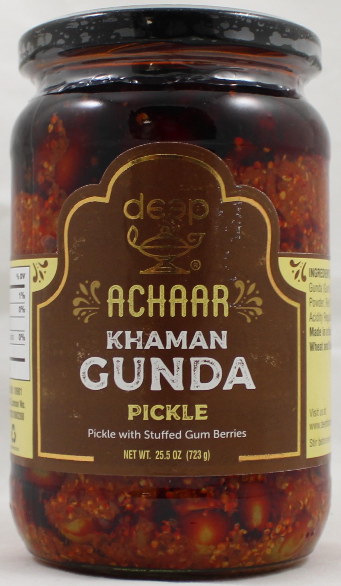 Khaman Gunda Pickle 25.5oz