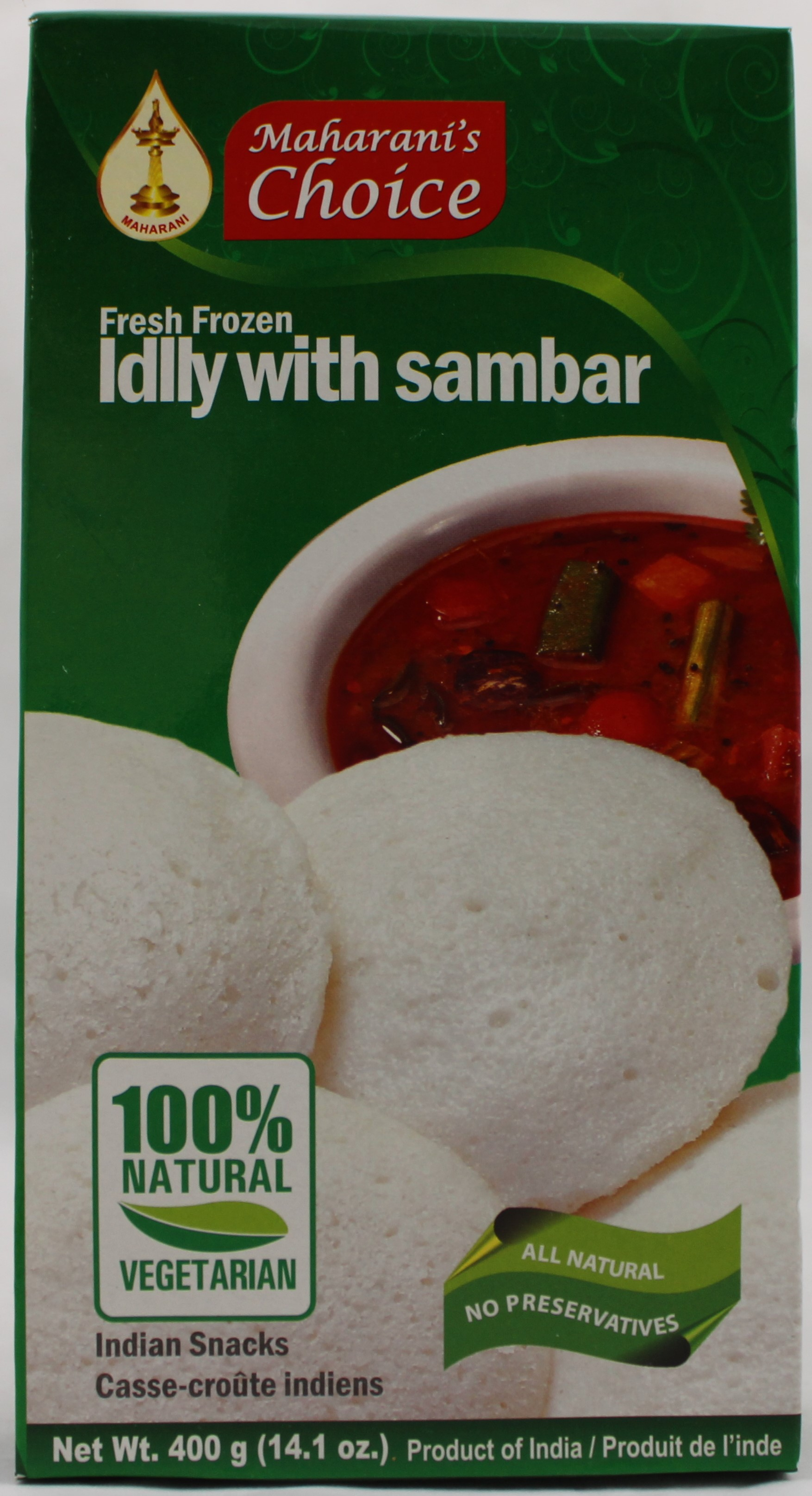 Maharani 10 Idlly With Sambar14.1oz