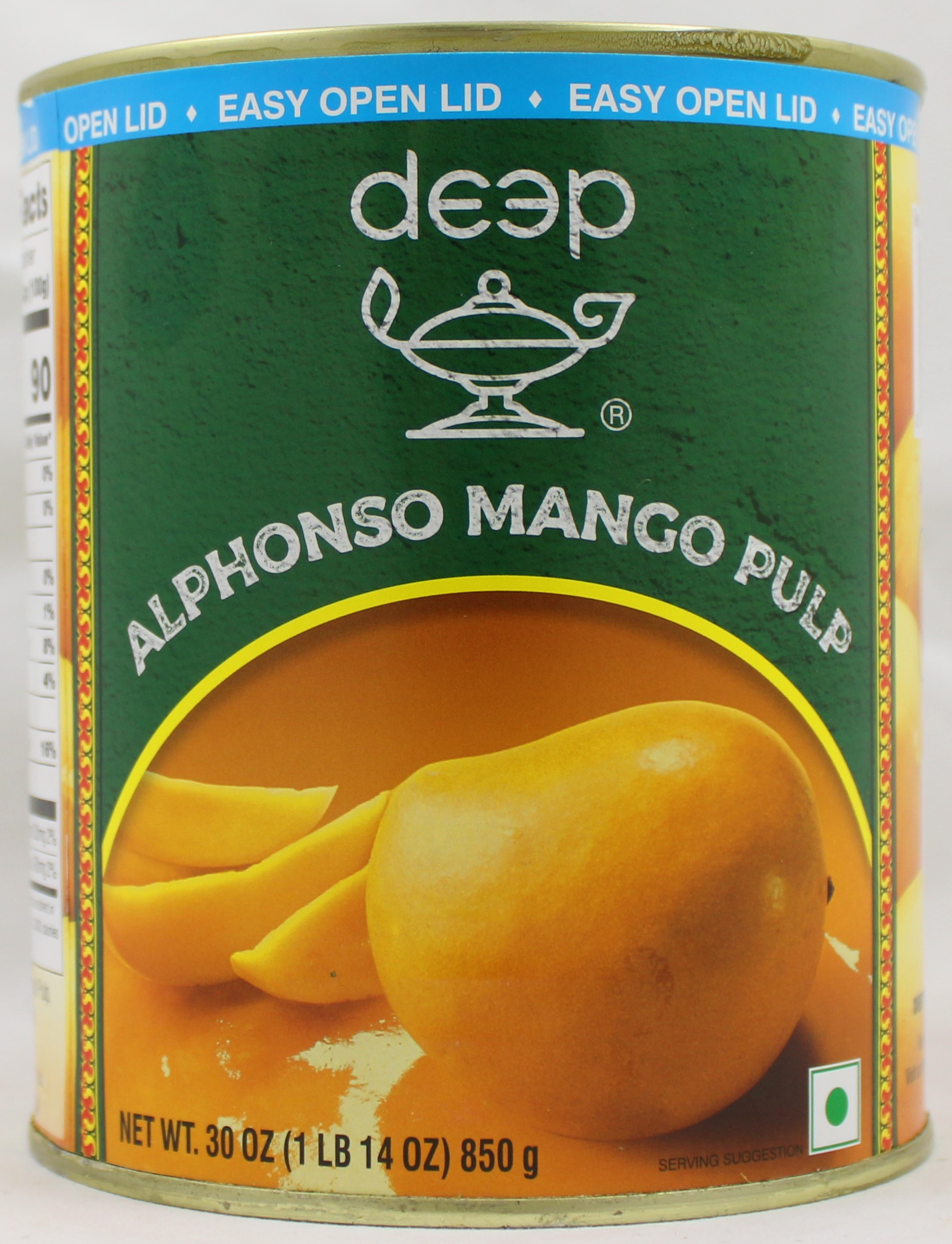 Alphonso Mango Pulp30oz EasyOpenLid