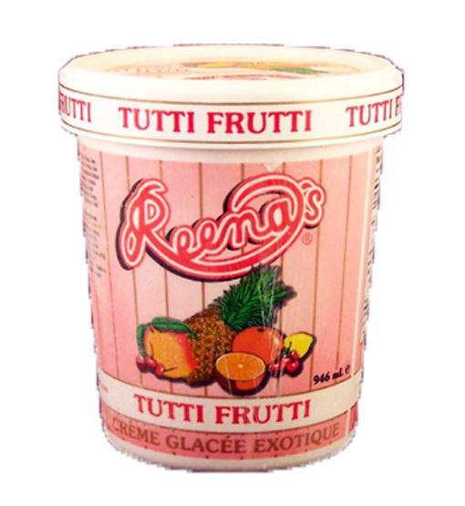 Quart Tooti Frooti Ice Cream