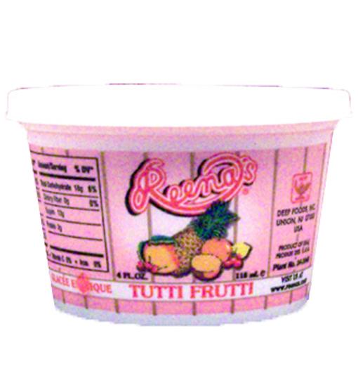 Cup Tutti Frutti Ice Cream