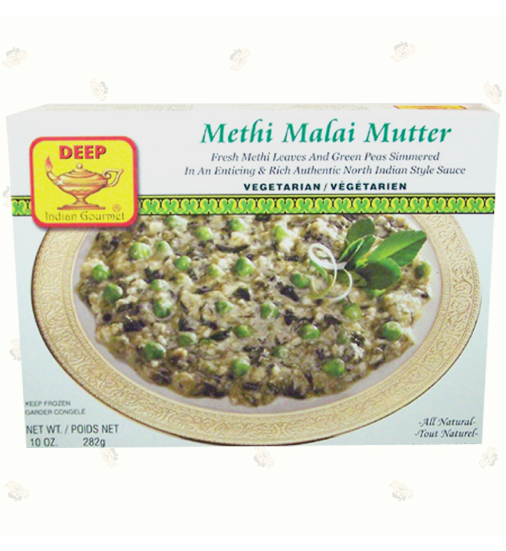 Methi Malai Mutter 10oz.