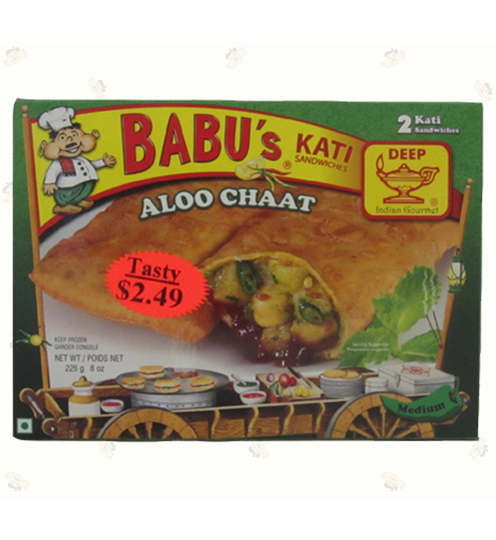 Aloo Chat 2 pocket Sndwch 8 oz.