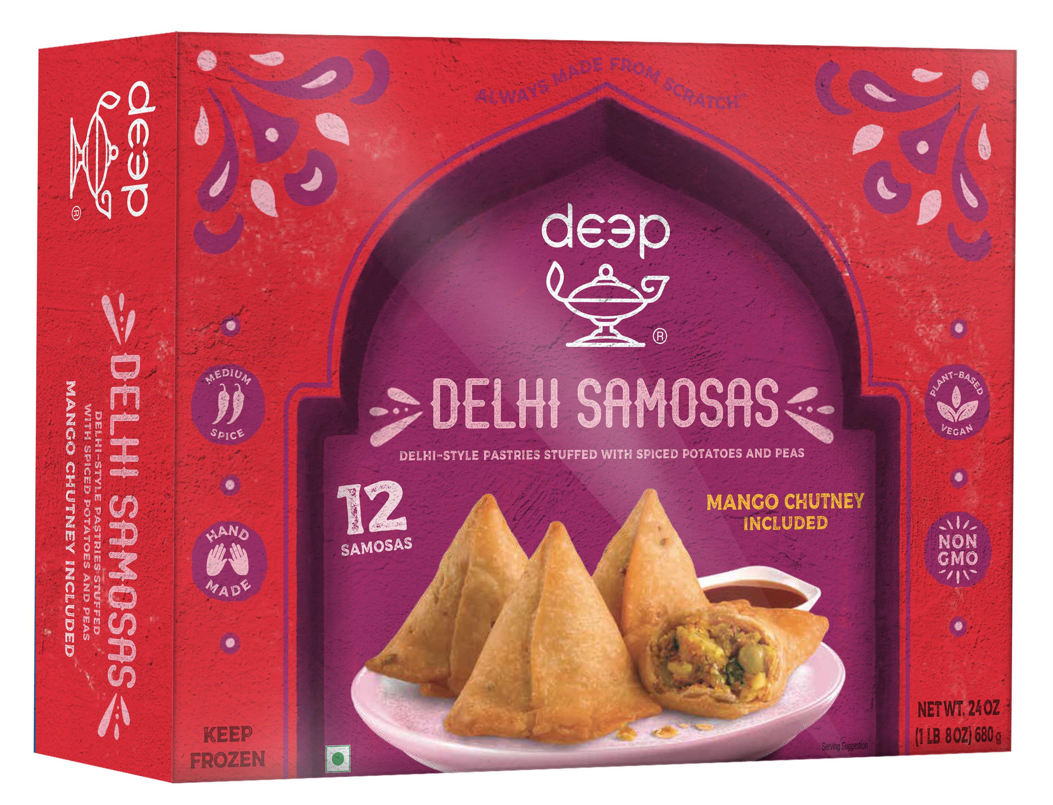Delhi Samosa with Chutney 24Oz