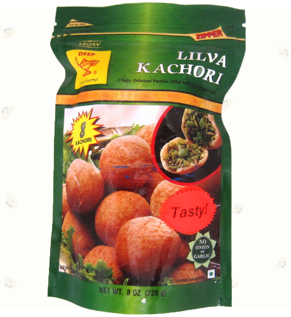 Indian Grocery - 8 Lilva Kachori 8oz