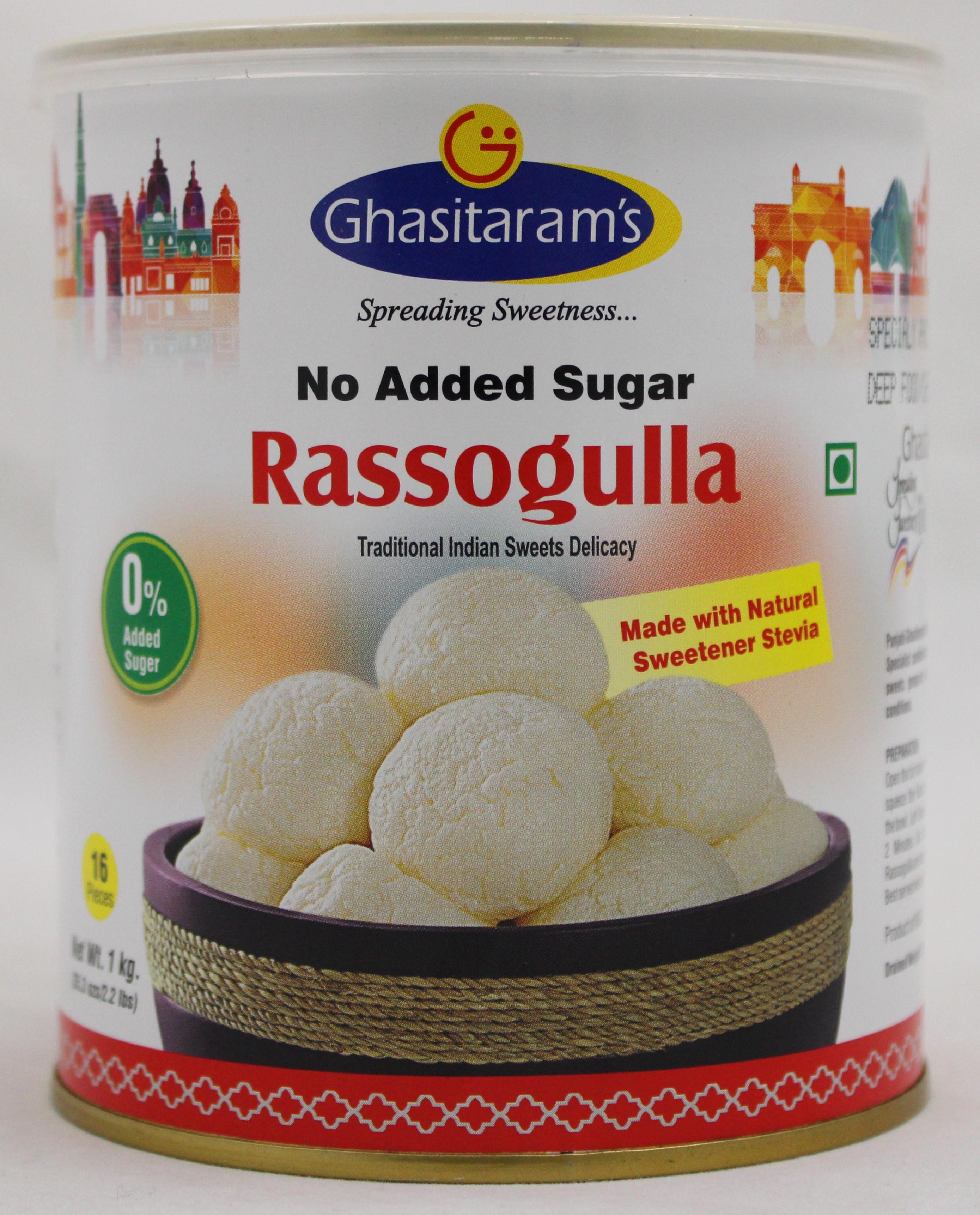Rassogulla No Sugar 2.2Lb
