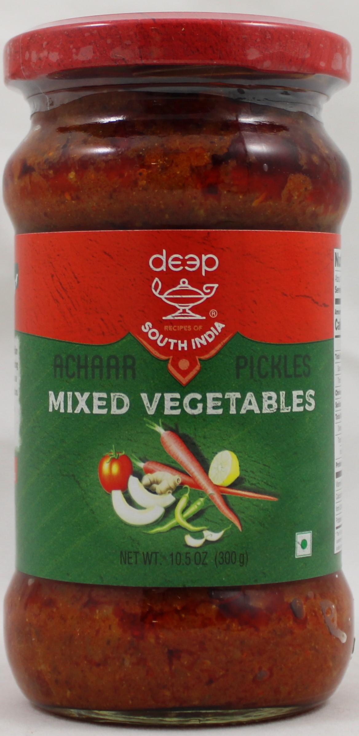 Mixed vegetablePickle 10.5oz.