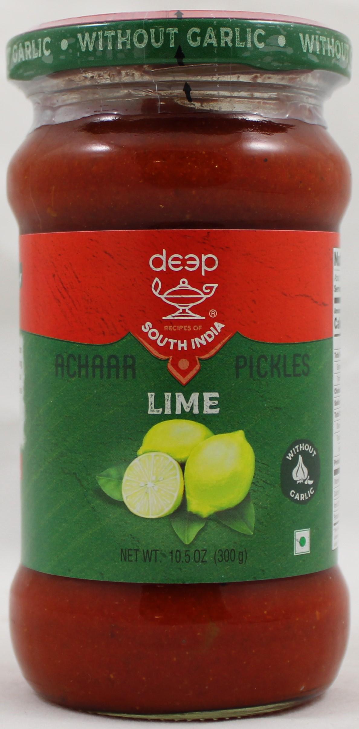 Lime Pickle w/o G 10.5oz.