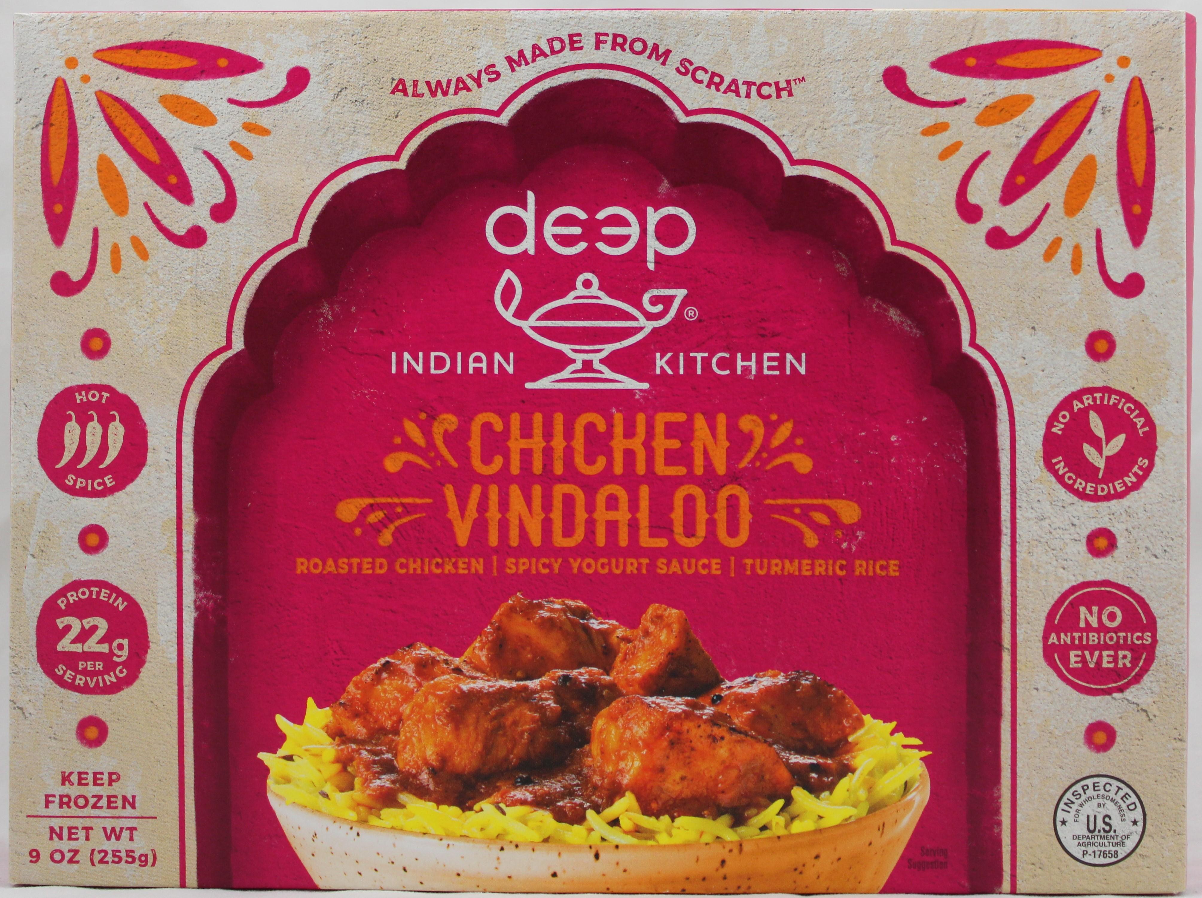 Chicken Vindaloo W/Tumeric Rice 9oz