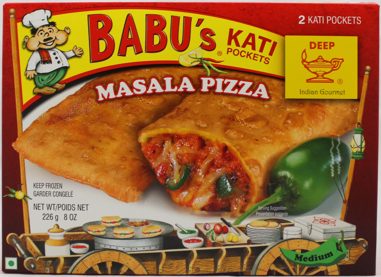 Masala Pizza 2 Pocket Sndwchs 8oz
