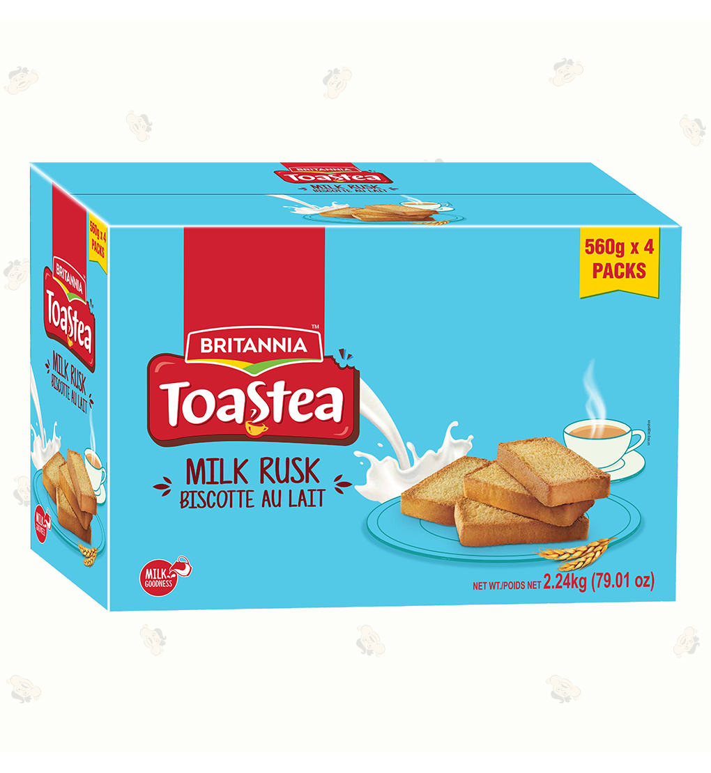 Milk Rusk Supr Save BOX-4 of 19.7oz