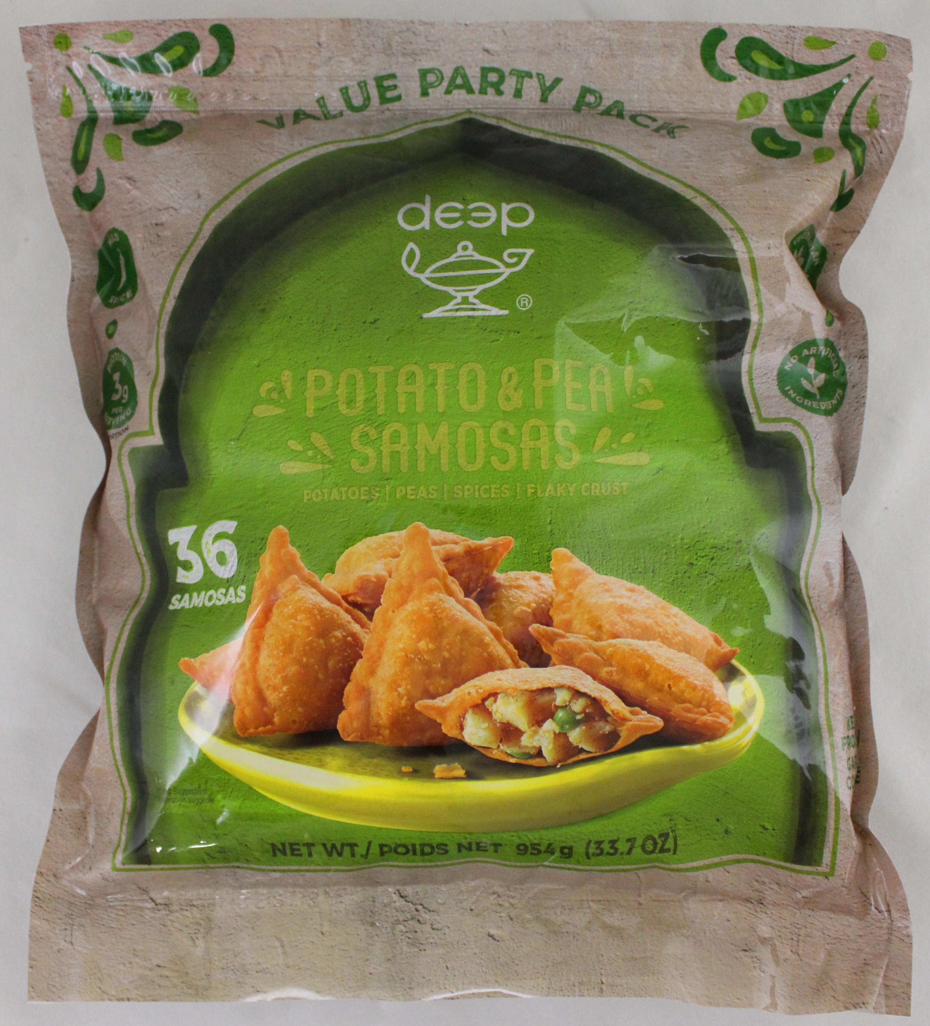 36 Samosa Potato & Peas 34.3 oz