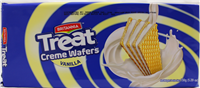 Treat Vanilla Creame Wafers 5.29Oz