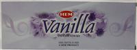 Hem Vanilla Agarbatti 6Hx x 12