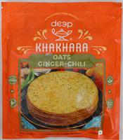 Oats Ginger – Chili Khakhara 7 Oz