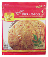 Homestyle Puran-Poli 4p-16.5oz