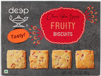 Fruity Biscuits 14.1 Oz