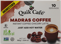 Unsweetened Madras Coffee 5.64oz
