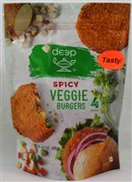 Spicy Veggie Burgers 14.1 Oz