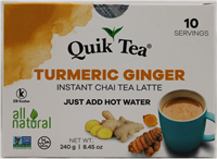Turmeric Ginger Chai 8.5oz