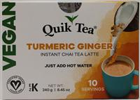 Vegan Turmeric Ginger Chai 8.5oz