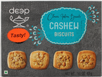 Cashew Biscuits 14.1 Oz