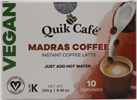 Vegan Madras Coffee 8.5oz